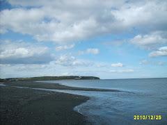 Punta Santa María en el Estrecho de Magallanes