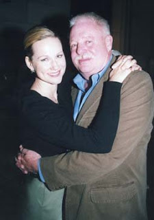 Laura Linney and Armistead Maupin at the Litquake opener. Photo: Steven Underhill