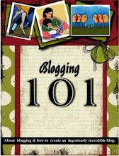 BLOGGING 101 by Katie Gauger