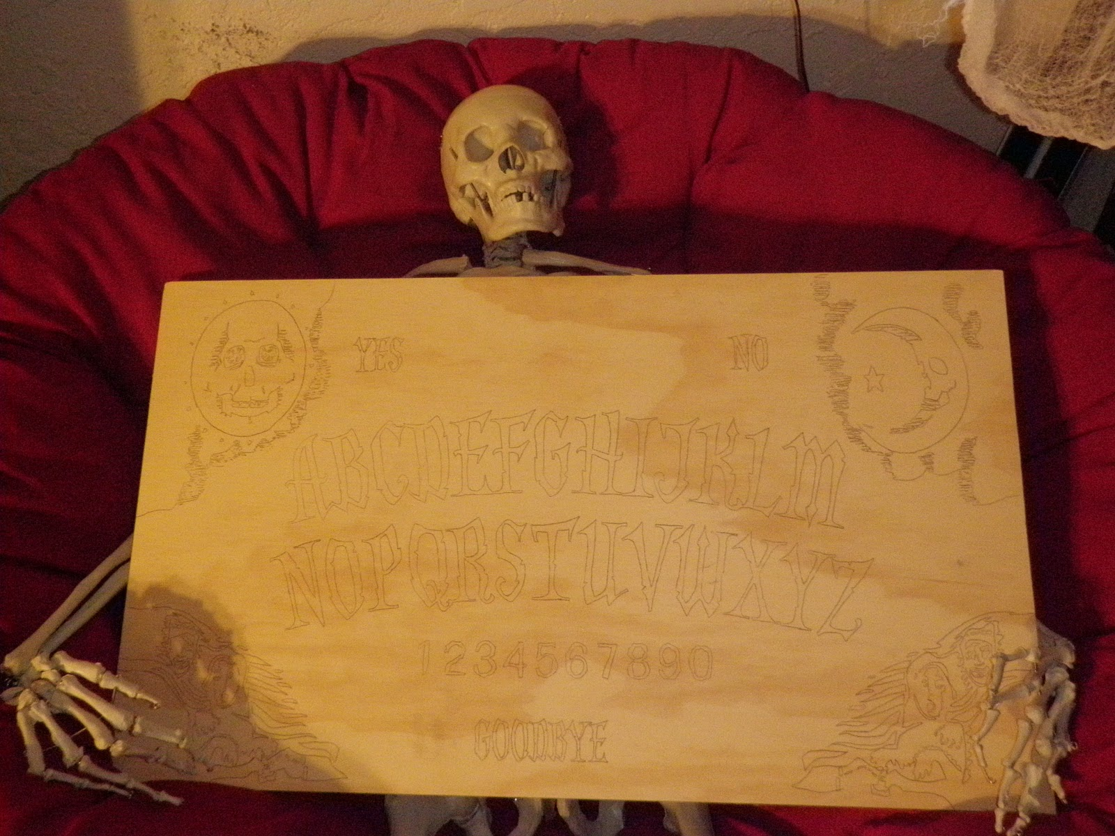 The Dismal Trader Ouija Board