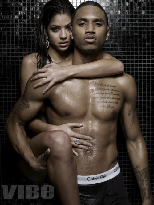 trey songz body pics. trey songz wallpaper 2011.