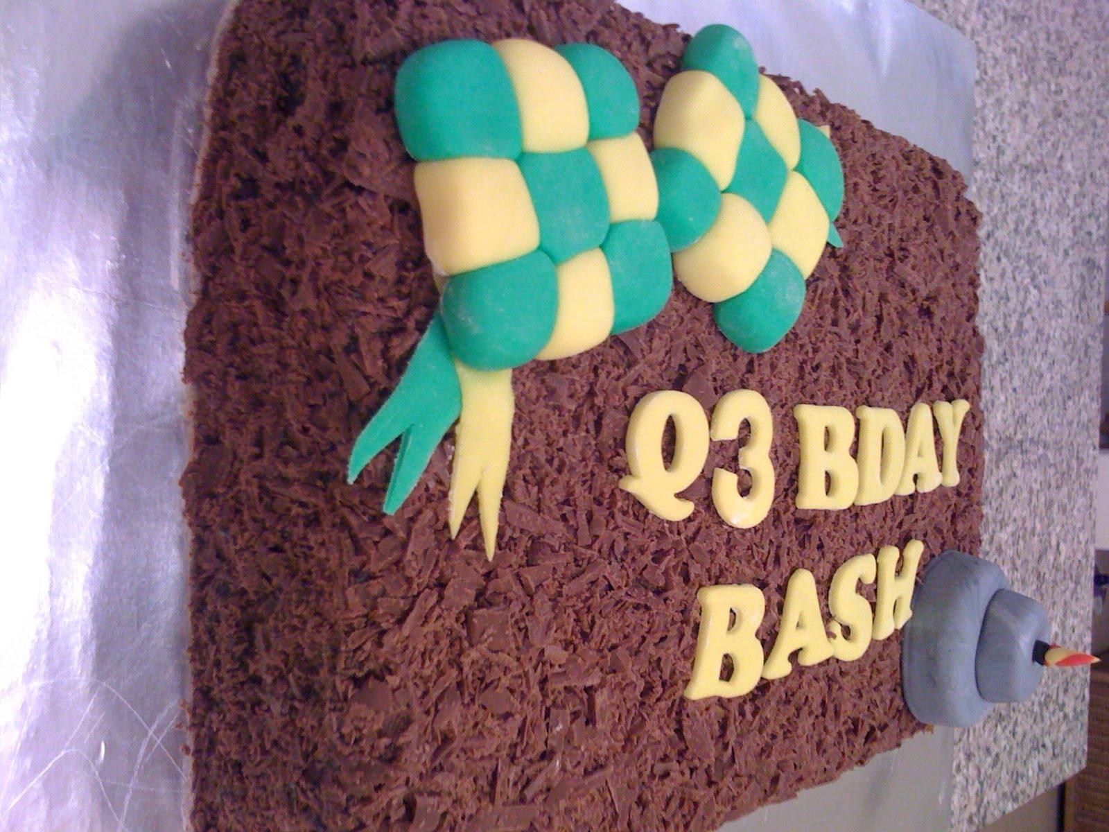 Cake Images With Name Hari : CAKE CUPBOARD: Selamat Hari Raya - Shaved Chocolate ...