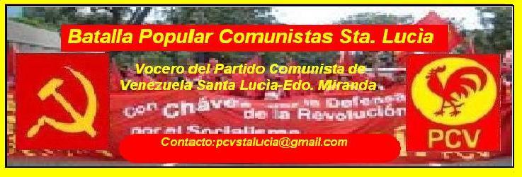 Batalla Popular Comunistas Sta. Lucía