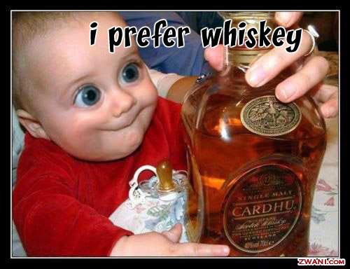 写真:酒を飲む