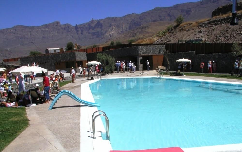 Santa lucia de tirajana la piscina recreativa de la zona - Lucia la piedra piscina ...