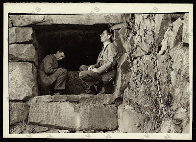 Paul+Cadmus+et+George+Tooker,+ca.+1950.j