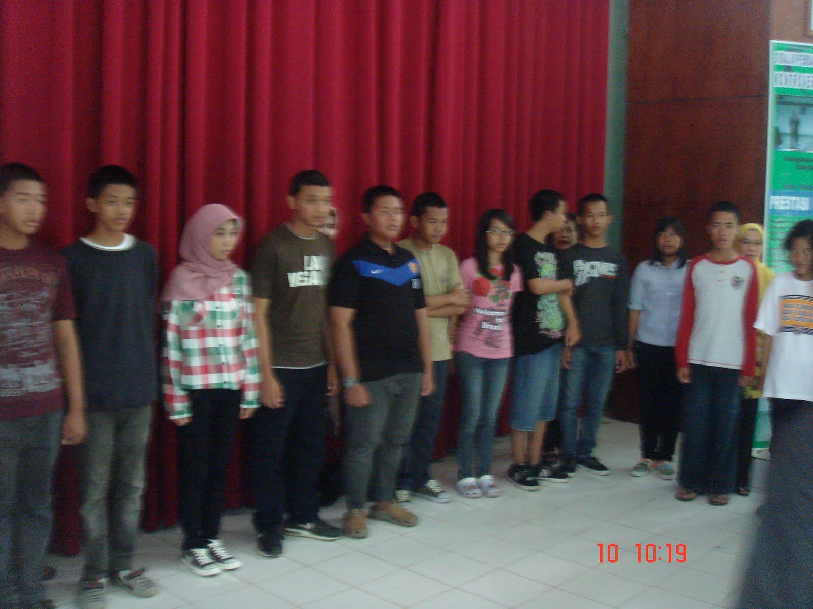 Menyambut datangnya hari dimana seluruh calon peserta didik SMA Plus Negeri 17 Palembang akan dikukuhkan berbagai persiapan ikut mewarnai event satu kali