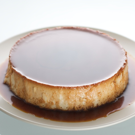 Coconut creme caramel