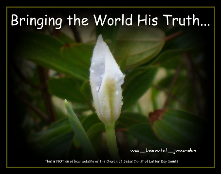 Bringing the World his Truth...