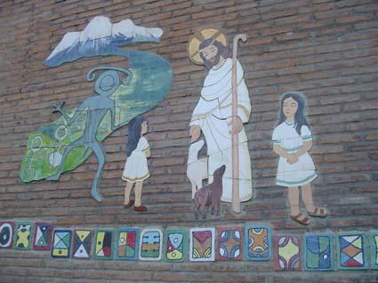 Obra final de los niños y niñas del colegio Buen Pastor