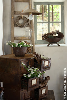 Цветы в прованском стиле