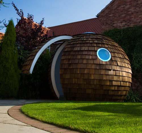 Archipod: офис в саду