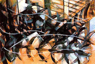 "i.heart.art: Giacomo Balla: ""Flight of the Swallows"""