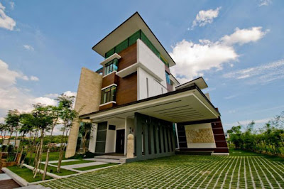Modern Home Construction (design By Arkitek Axis U2013 Lot 18 House, Malaysia )