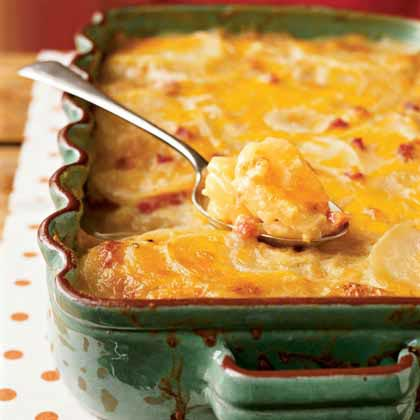 Potatoes Au Gratin Recipe — Dishmaps