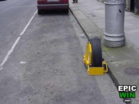 how to take a parking boot f f info 2017
