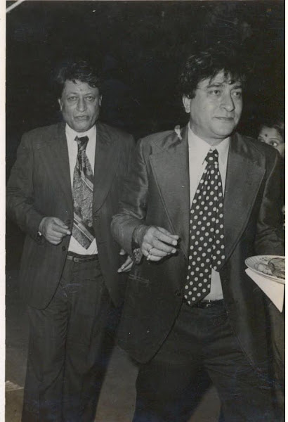 With his Younger Brother Ravinder Kapoor