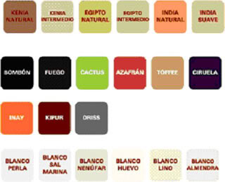 Decoracion y bricolaje malaga octubre 2010 - Bruguer carta de colores ...