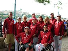 Budapest WC Paratriathlete Team