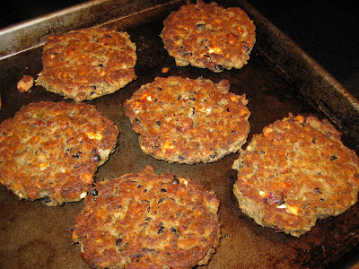 Meatless Bean And Rice Cakes