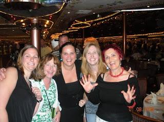 me, Anita, Oana, Lindsay, Gina