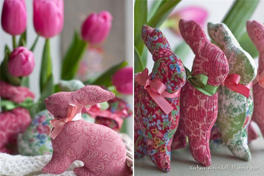 Кролик своими руками мастер класс 71