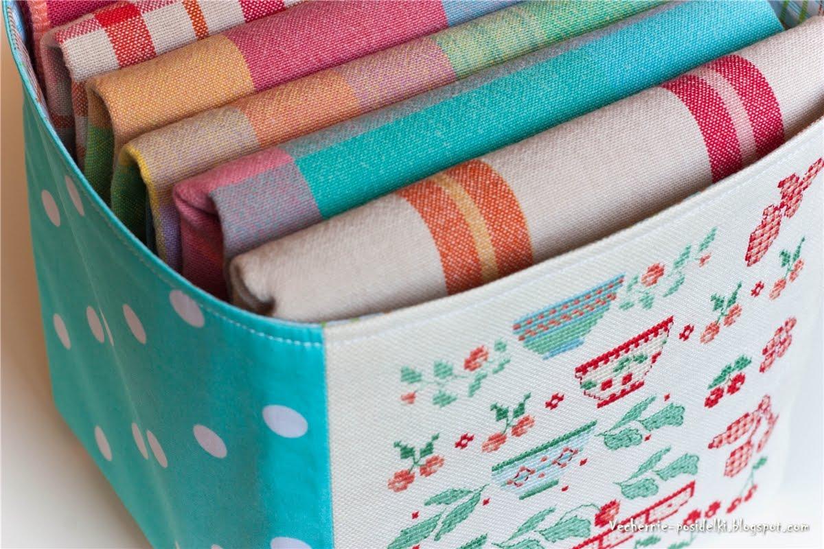 Коробка текстильная своими руками фото 672