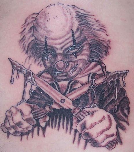 New Clown Tattoo Design 2011: 2011-01-30