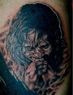 Exorcist Death Tattoo