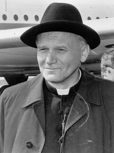 an introduction to the life of karol josef wojtyla Highlights of the life of his holiness john paul ii  among the names of the new cardinals elect is that of karol wojtyla  he gives the introduction on the.