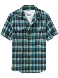 Short Sleeve Indie Plaid