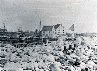 Efter stormfloden i Rødvig 1872