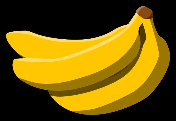banana clip art 072910 vector