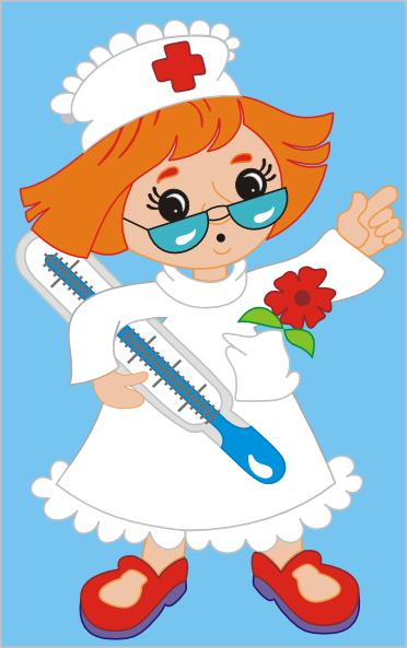 nurse clip art 082010 vector