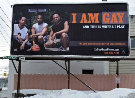 A couple of billboards in Schenectady, NY geared towards the gay ...