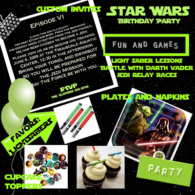 Star Wars Birthday Banner. STAR WARS Birthday Ideas