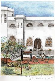 ציור בית הספר על ידי הורה צייר