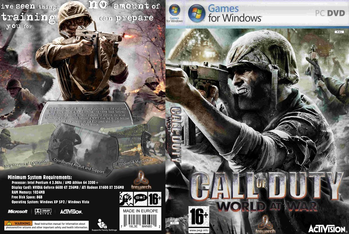 call of duty 5   world at war onlinekey