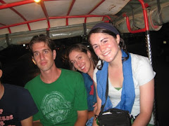 me, Deidre, and Katie in a tuktuk