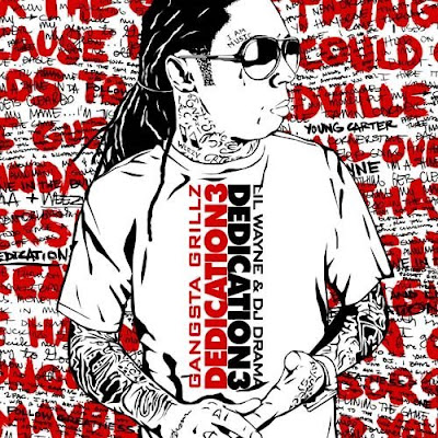 lil wayne dedication 3 album cover