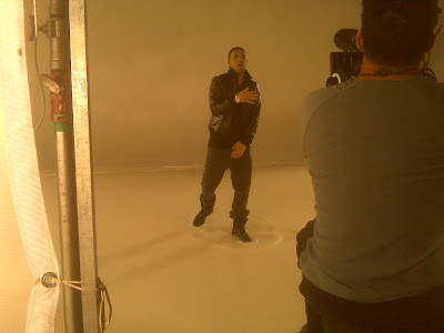 Photos: Drake @ GQ Shoot (W/ KiD CuDi & Wale) & 'Forever' & 'Money To Blow' Video Shoots