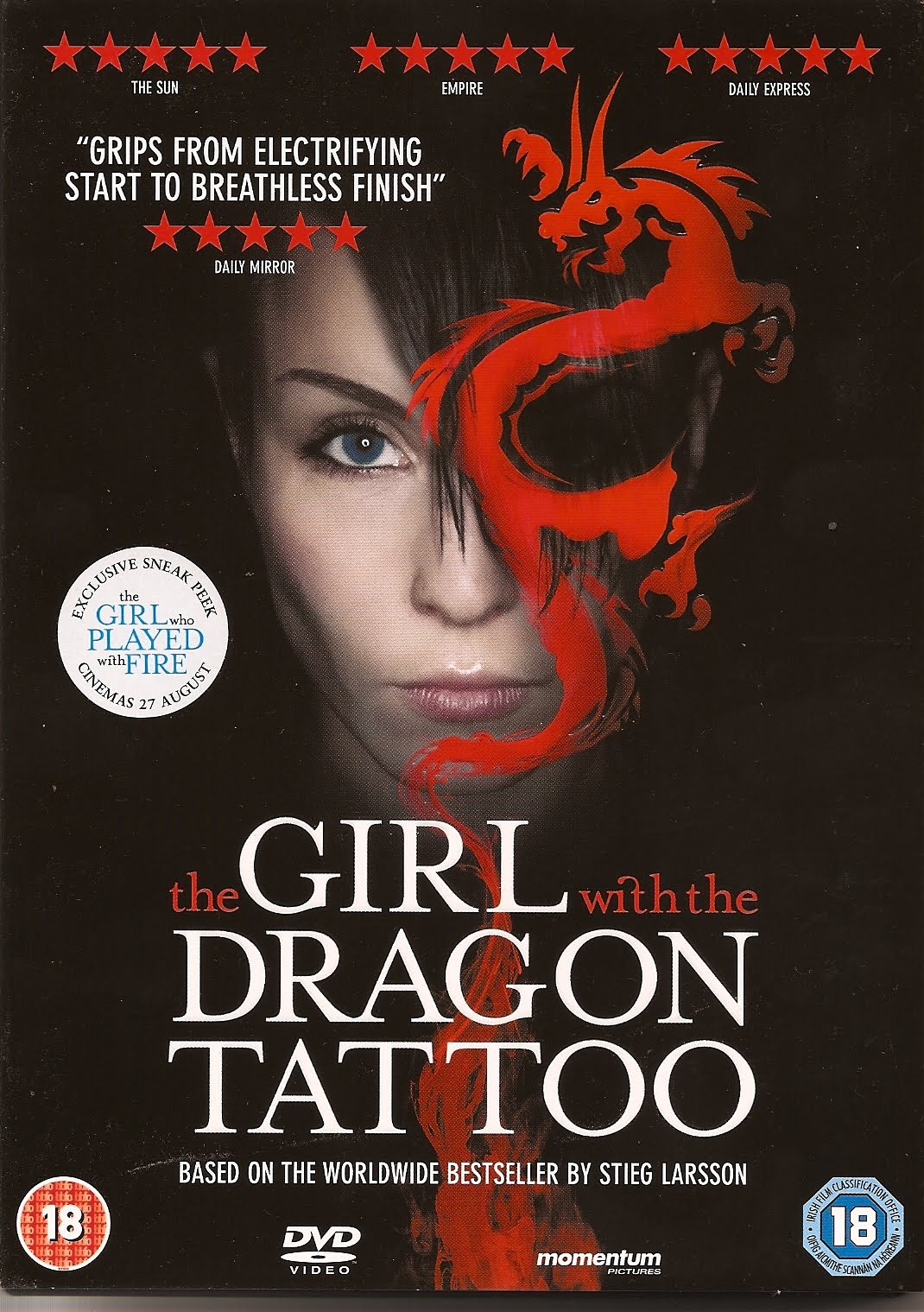 Crime scraps lisbeth salander on screen twice for Cast of girl with the dragon tattoo