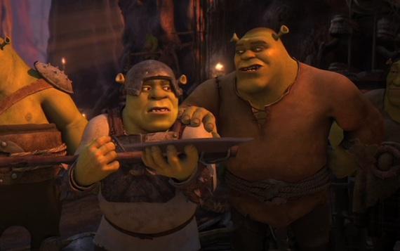 Shrek 3 Human  gt shrek forever after imax 3dShrek 3 Human