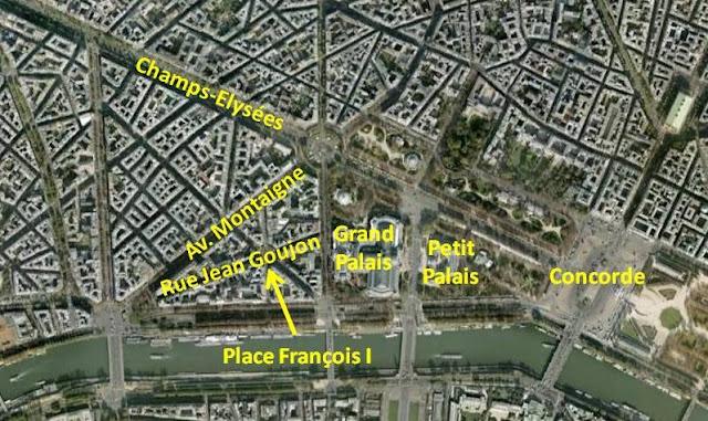 peter 39 s paris rue jean goujon place fran ois i. Black Bedroom Furniture Sets. Home Design Ideas