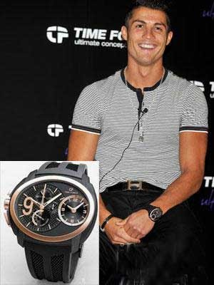 Coming of age what kind of watch c ronaldo and other male super star worn for Celebrity watch brand male