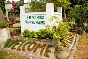 WELCOME TO PAG-ASA FARMS!