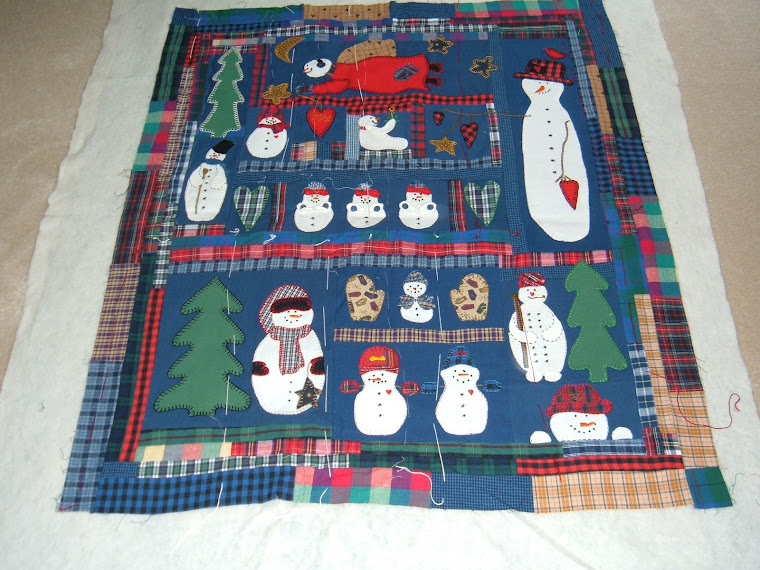 snowmen quilt