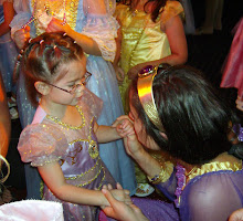 Stephanie meets Princess Jasmine