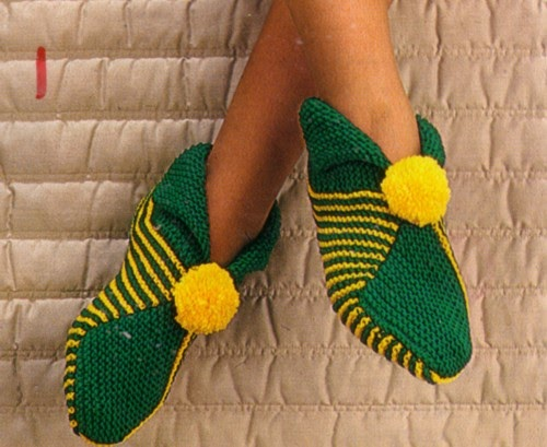 Knitting Wool Uk Only : Knit for victory your own slippers