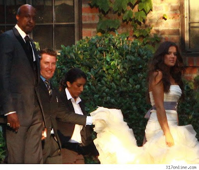 khloe kardashian and lamar odom. Mr. and Mrs. Lamar Odom were